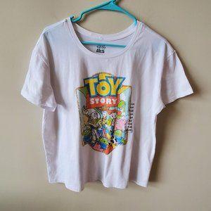 🎁Disney Toy Story Womens Short Sleeve Tee  XXL